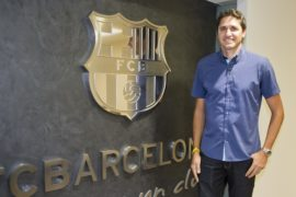 Jose Edmilson at FCBEscola